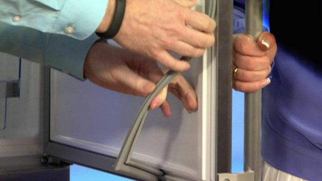 Замена своими руками уплотнителя холодильника стинол 73